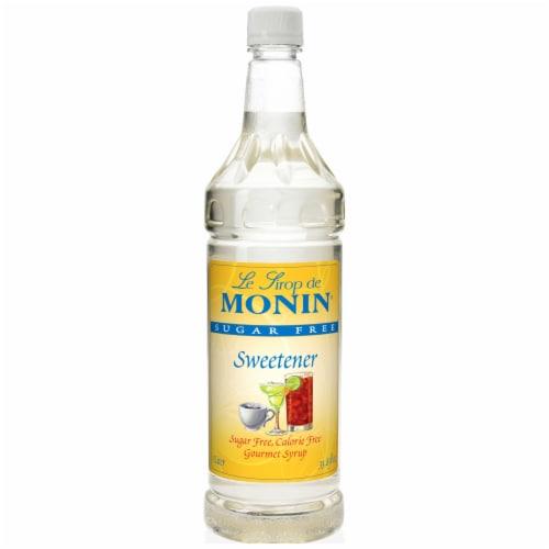 Flavor Sugar Free Sweetener Unflavored,1 Liter -- 4 Case Perspective: front