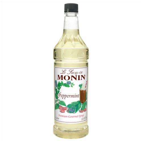 Le Sirop de Monin Peppermint Flavor Syrup Perspective: front