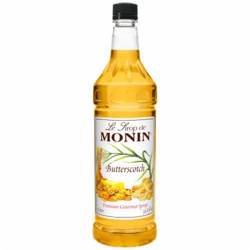Monin Butterscotch Syrup, l Liter -- 4 per case. Perspective: front