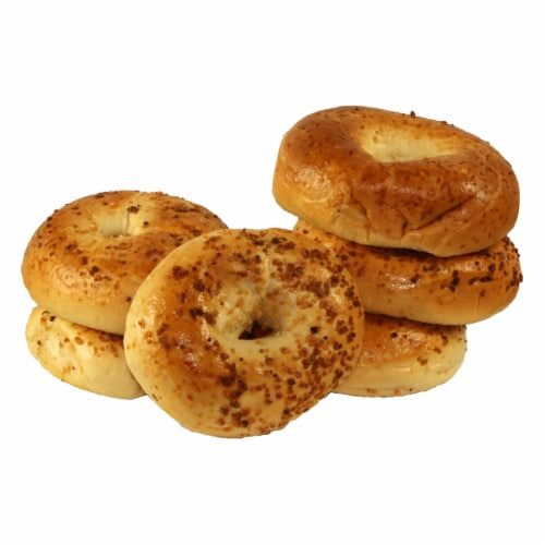 Just Bagels Garlic Bagel, 4 Ounce -- 48 per case. Perspective: front