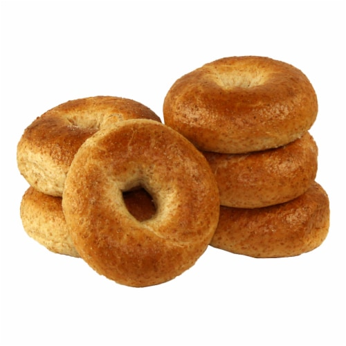 Just Bagels Wheat Bagel, 4 Ounce -- 48 per case. Perspective: front