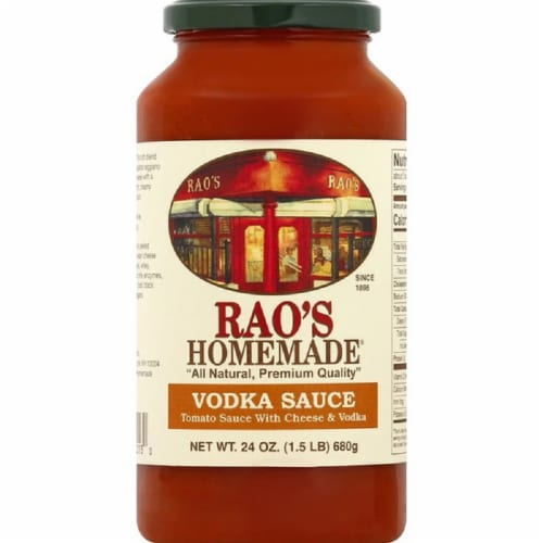 Rao's Sauce Vodka, 24 OZ (Pack of 6) Perspective: front