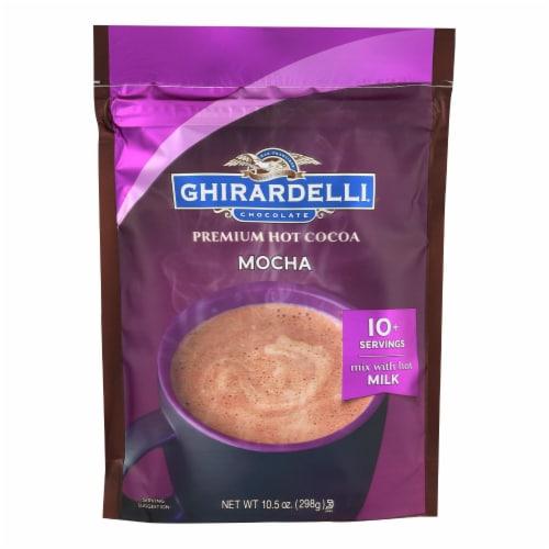 Ghirardelli Hot Cocoa - Premium - Chocolate Mocha - 10.5 oz - case of 6 Perspective: front