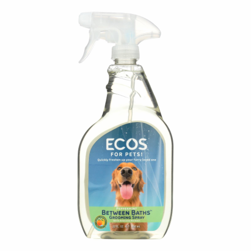 Ecos For Pets! Between Baths Grooming Spray  - Case of 6 - 22 OZ Perspective: front