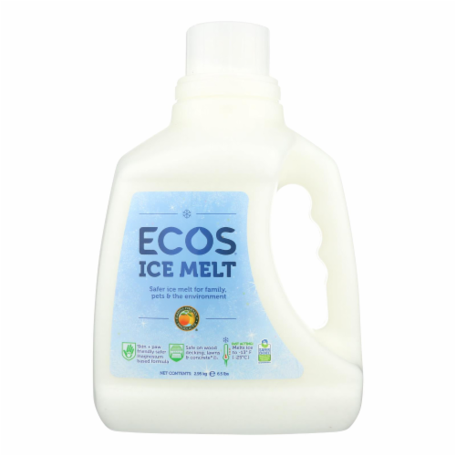Earth Friendly Ice Melt - Case of 4 - 6.5 lb. Perspective: front