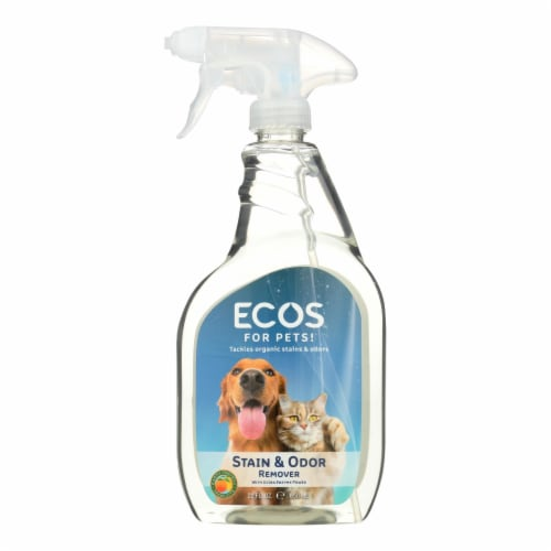 Ecos For Pets Stain And Odor Remover  - Case of 6 - 22 OZ Perspective: front