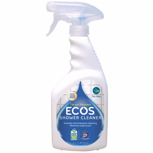 Earth Friendly Shower Cleaner - Case of 6 - 22 FL oz. Perspective: front