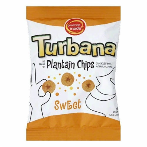 Turbana Sweet Plantain Chips Perspective: front