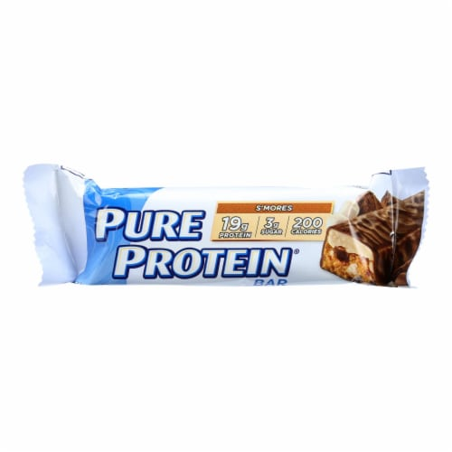 Pure Protein Bar - S'mores - Case of 6 - 50 Grams Perspective: front