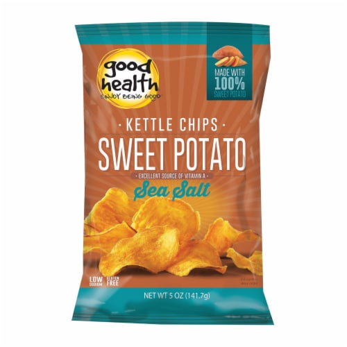 Good Health Sweet Chipotle - Sweet Potato - Case of 12 - 5 oz. Perspective: front