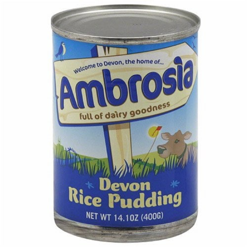 Ambrosia Devon Rice Pudding, 14.1 Oz (Pack of 12) Perspective: front