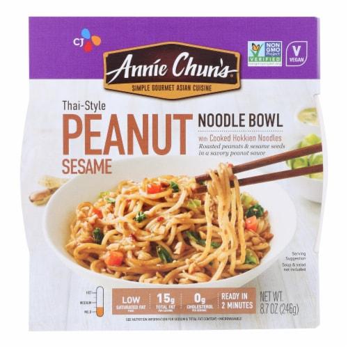 Annie Chun's Noodle Bowls  - Case of 6 - 8.7 OZ Perspective: front