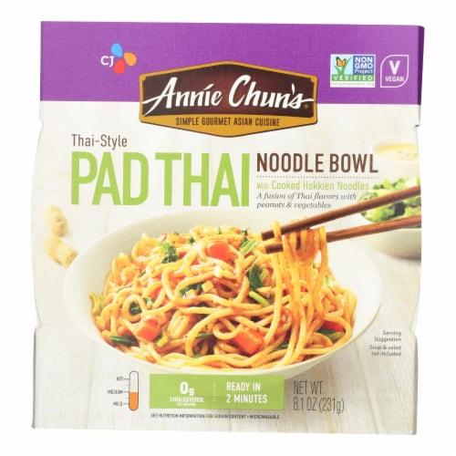 Annie Chun's Noodle Bowls  - Case of 6 - 8.1 OZ Perspective: front