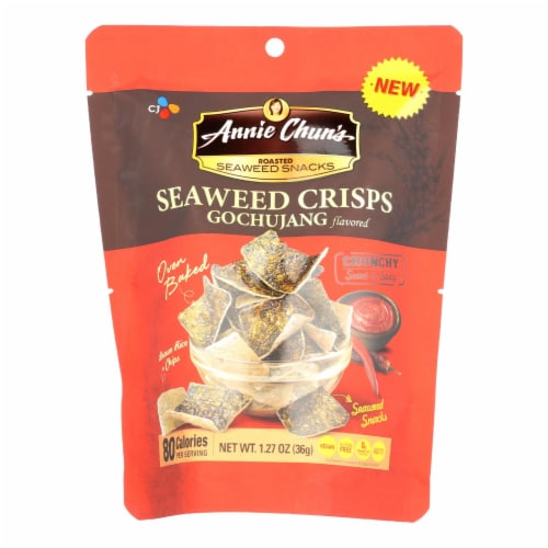 Annie Chun'S Seaweed Snacks Gochujang Flavored - Case Of 10 - 1.27 Oz Perspective: front
