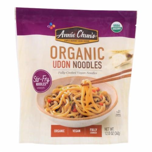 Annie Chun's - Noodle Bowl Udon 2pk - Case of 6 - 12 OZ Perspective: front