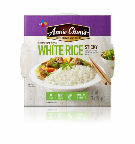 Annie Chun's Rice Express White Sticky Rice Perspective: front