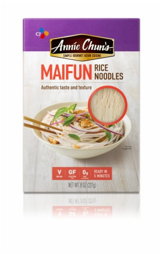 Annie Chun's Maifun Rice Noodles - Case of 6 - 8 oz. Perspective: front