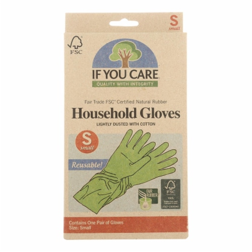 If You Care Household Gloves - Small - 12 Pairs Perspective: front