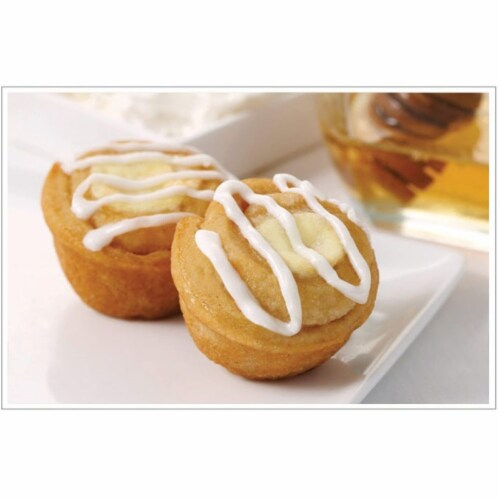 Two Bite Mini Cheese Danish, 0.85 Ounce -- 252 per case. Perspective: front