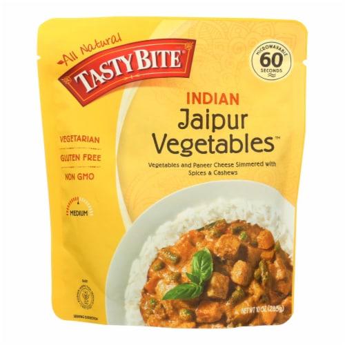 Tasty Bite Entrees - Indian Cuisine - Jaipur Vegetables - 10 oz - case of 6 Perspective: front