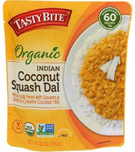 Tasty Bite Oragnic Indian Coconut Squash Dal Non GMO,10 oz (Pack of 6) Perspective: front