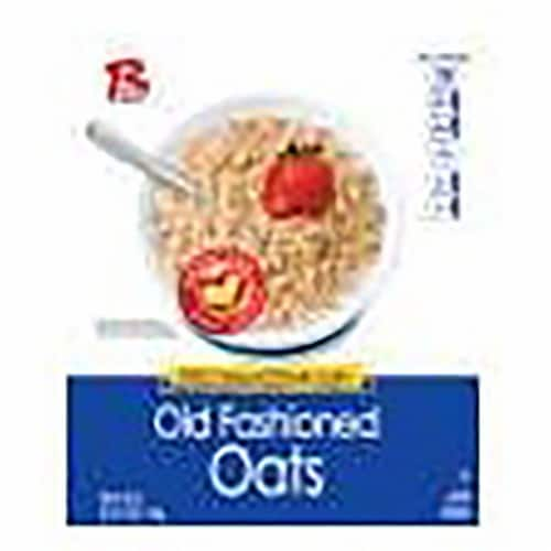 Ralston Foods Old Fashioned Oats Cereal, 42 Ounce -- 12 per case. Perspective: front
