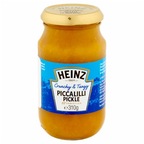 Heinz Piccalilli Pickle Spread Perspective: front