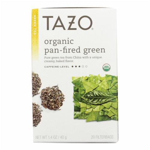 Tazo Tea Organic Green Tea - Case of 6 - 20 BAG Perspective: front