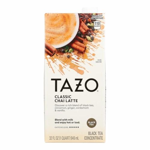 Tazo Tea Chai Concentrate - Case of 6 - 32 fl oz Perspective: front