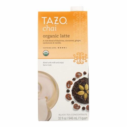 Tazo Tea Organic Tea - Chai Latte - Case of 6 - 32 fl oz Perspective: front