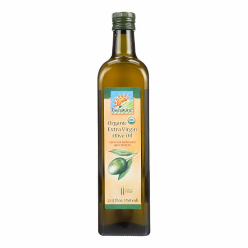 Bionaturae Olive Oil - Organic Extra Virgin - Case of 6 - 25.4 FL oz. Perspective: front