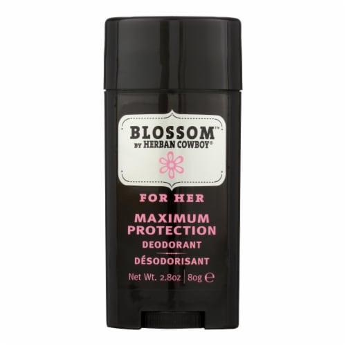 Herban Cowboy Deodorant Blossom Scent - 2.8 oz Perspective: front