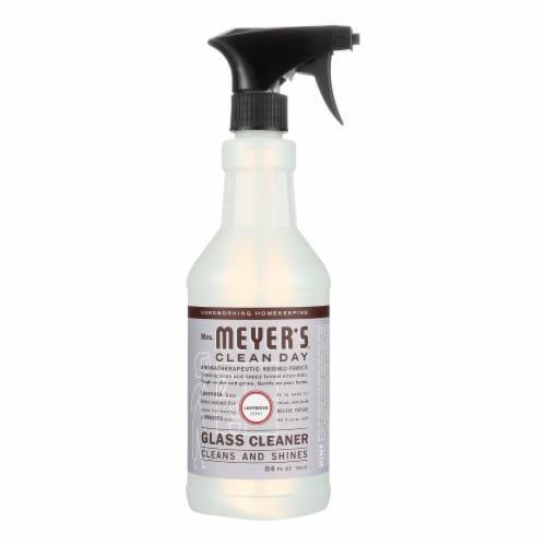 Mrs. Meyer's Clean Day - Glass Cleaner - Lavender - 24 oz Perspective: front
