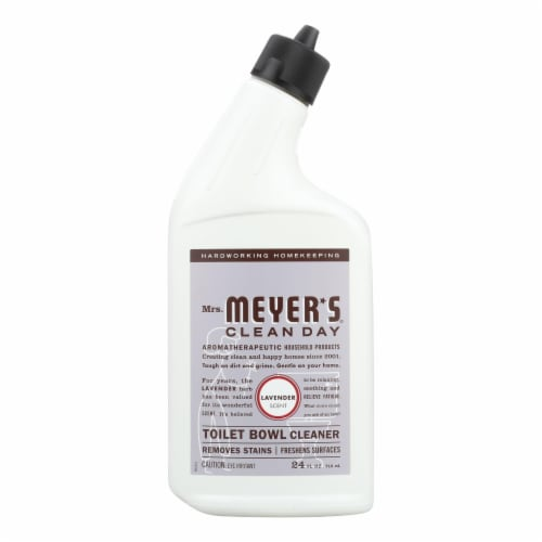 Mrs. Meyer's Clean Day - Toilet Bowl Cleaner - Lavender - 24 fl oz - Case of 6 Perspective: front