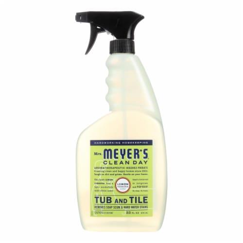 Mrs. Meyer's Clean Day - Tub and Tile Cleaner - Lemon Verbena - 33 fl oz Perspective: front