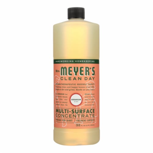 Mrs. Meyer's Clean Day Geranium Multi-Surface Concentrate Perspective: front