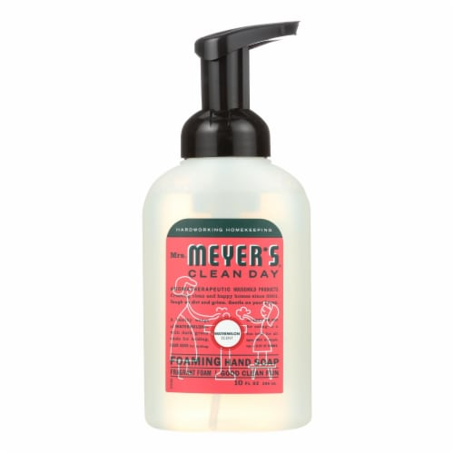 Mrs. Meyer's Clean Day - Foaming Hand Soap - Watermelon - Case of 6 - 10 fl oz Perspective: front