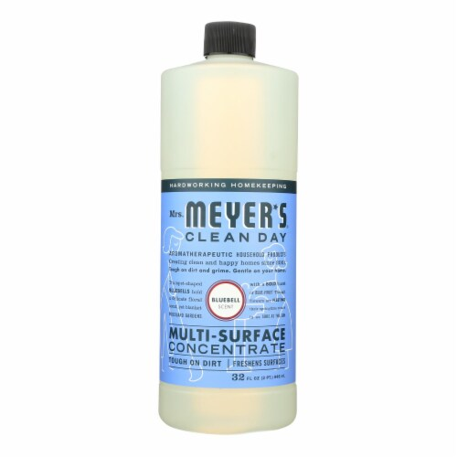Mrs. Meyer's Clean Day - Multi Surface Concentrate - Blubell - 32 fl oz Perspective: front