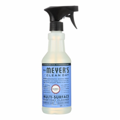 Mrs. Meyer's Clean Day - Multi-Surface Everyday Cleaner - Blubell - 16 fl oz Perspective: front