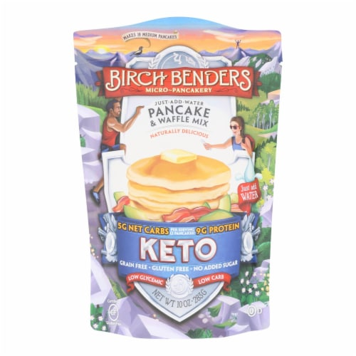 Birch Benders - Pancake&wffl Mix Keto - Case of 6 - 10 OZ Perspective: front