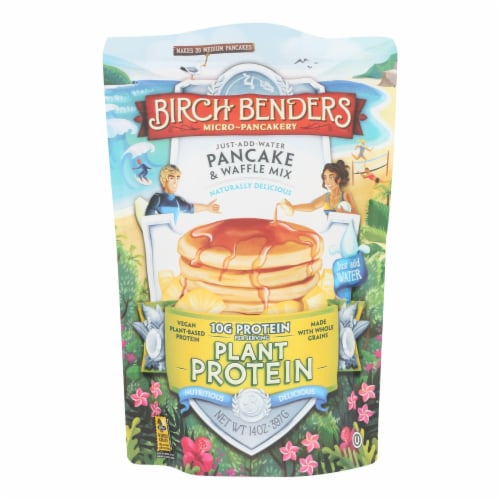 Birch Benders - Pnck@wfl Mix Plnt Protn - Case of 6 - 14 OZ Perspective: front