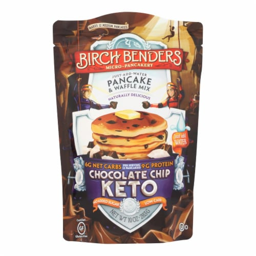 Birch Benders - Pnck&wfl Mix Cchip Keto - Case of 6 - 10 OZ Perspective: front