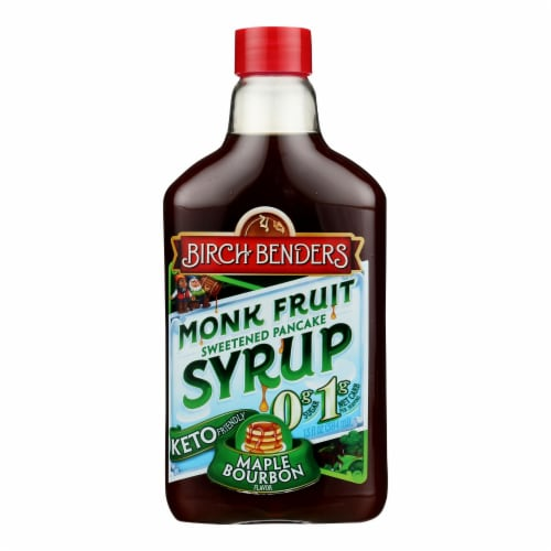 Birch Benders - Syrup Magic Maple Bourbon - Case of 6 - 13 FZ Perspective: front