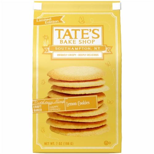 Tate's Bake Shop Lemon Cookies  7oz PK 12 Perspective: front