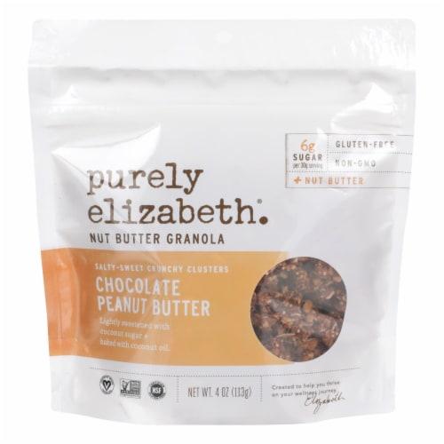Purely Elizabeth - Granola Mini Chocolate Pb - Case of 10 - 4 OZ Perspective: front