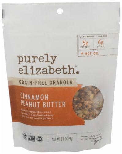 Purely Elizabeth Grain Free Cinnamon Peanut Butter Granola Perspective: front