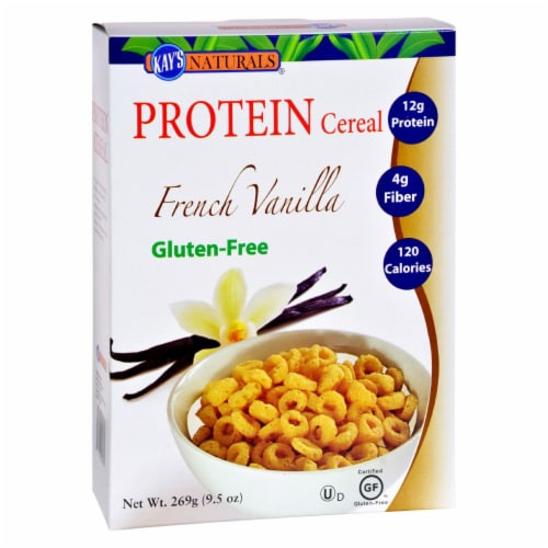 Kay's Naturals Better Balance Protein Cereal French Vanilla - 9.5 oz - Case of 6 Perspective: front