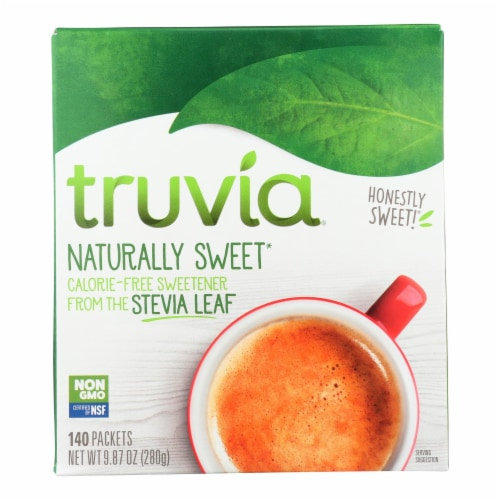 Truvia - Sweetener Natural - Case of 6 - 140 CT Perspective: front