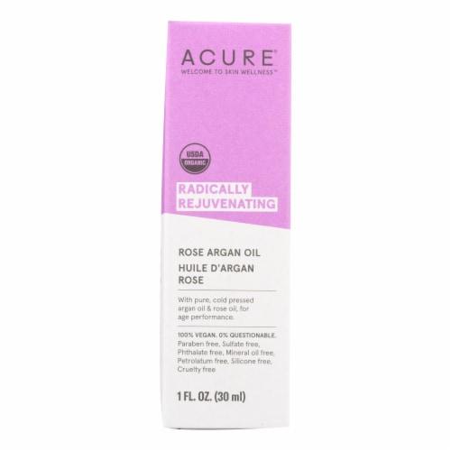 Acure - Argan Oil - Radically Rejuvenating Rose - 1 fl oz Perspective: front