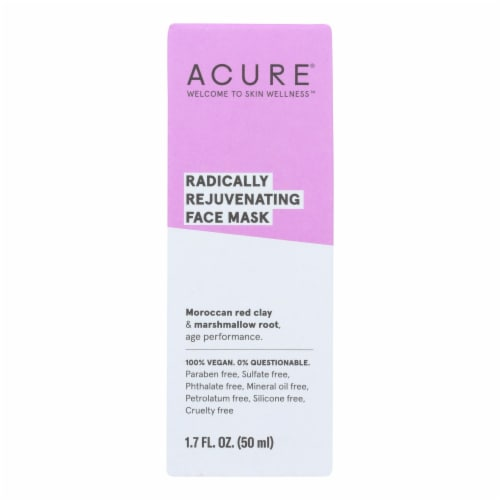 Acure - Mask - Facial - Red Clay - 1.7 fl oz Perspective: front